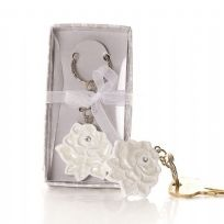 A Rose In Bloom Key Ring